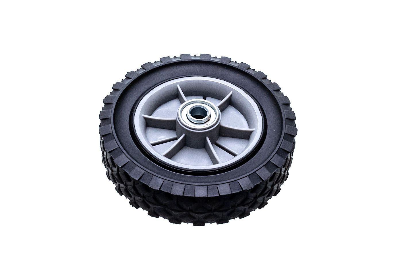 Univerzální kolo 150mm - plastové + ložisko, pryžová pneumatika