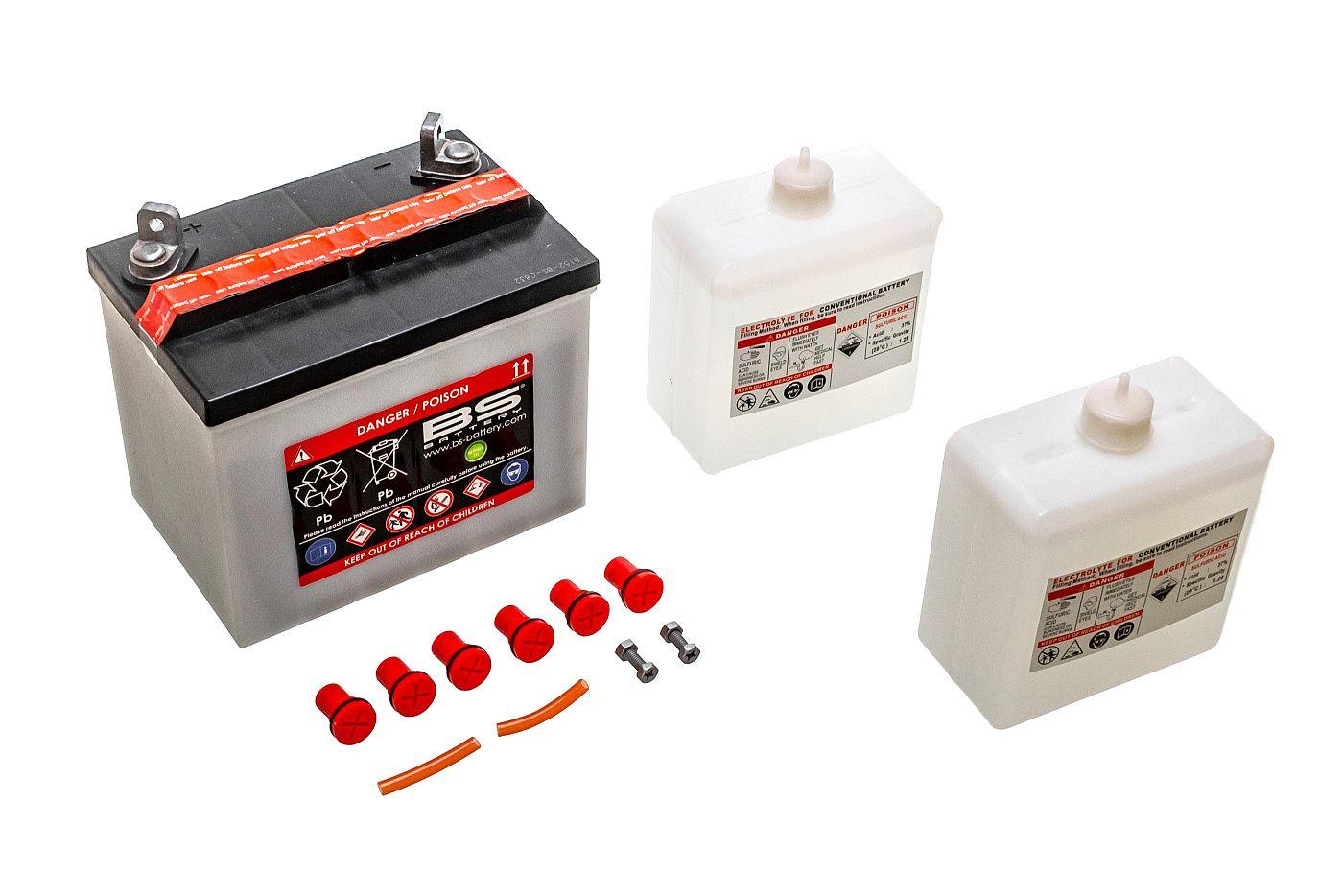 Akumulátor s kyselým elektrolytem 12V 24Ah PRAVÝ PLUS