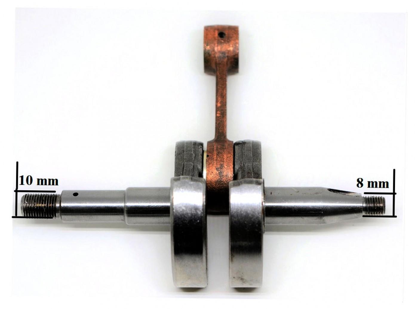 Kliková hřídel Husqvarna 266 - 10 mm