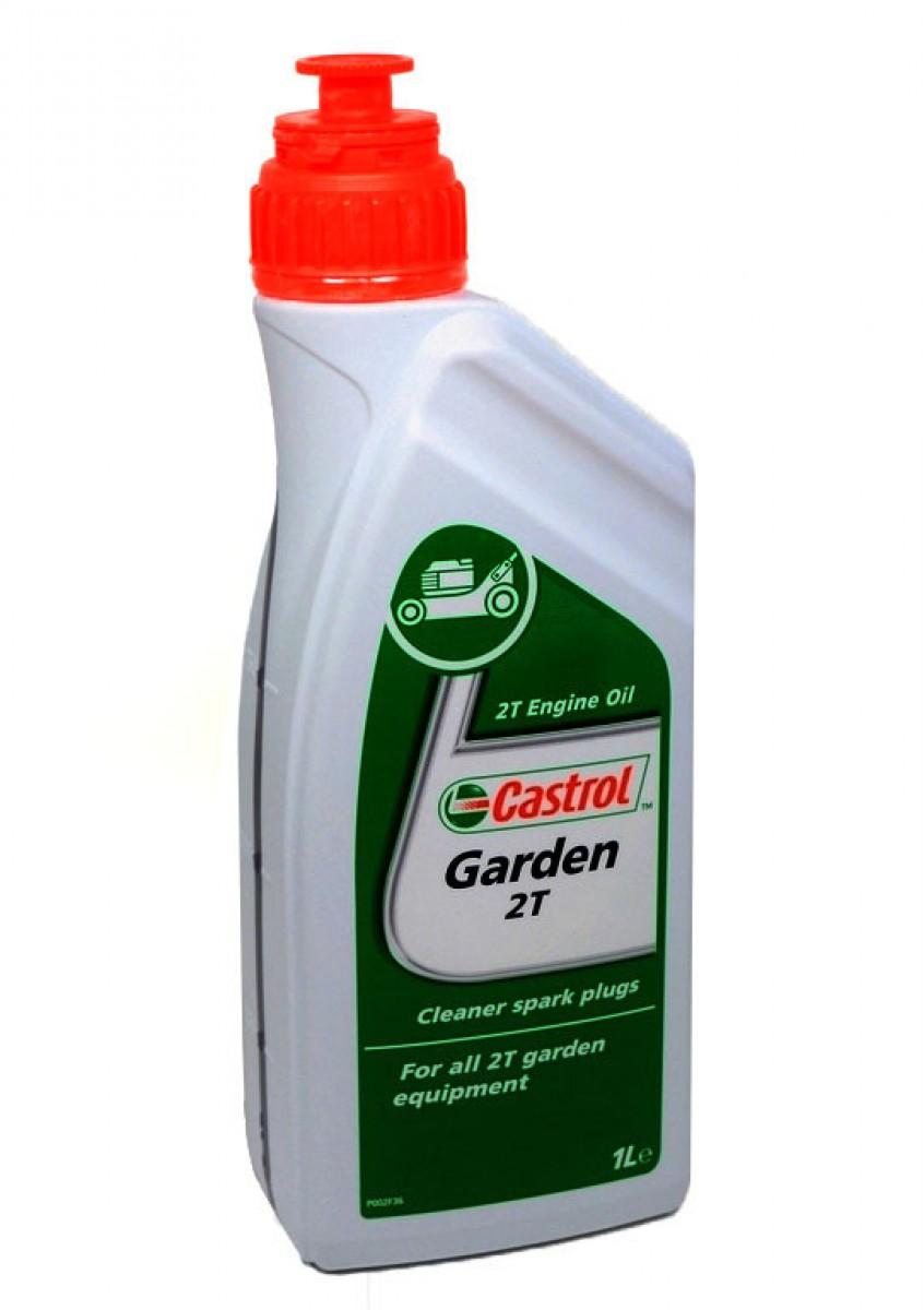 Motorový olej  CASTROL Garden 2T - 1L SUPER AKCE