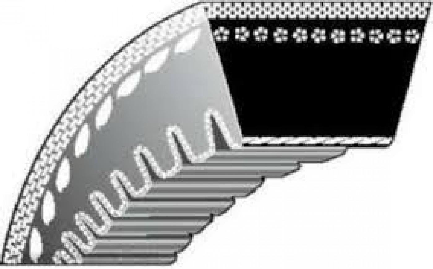 Klínový řemen Délka: 89 cm MTD 754-04050