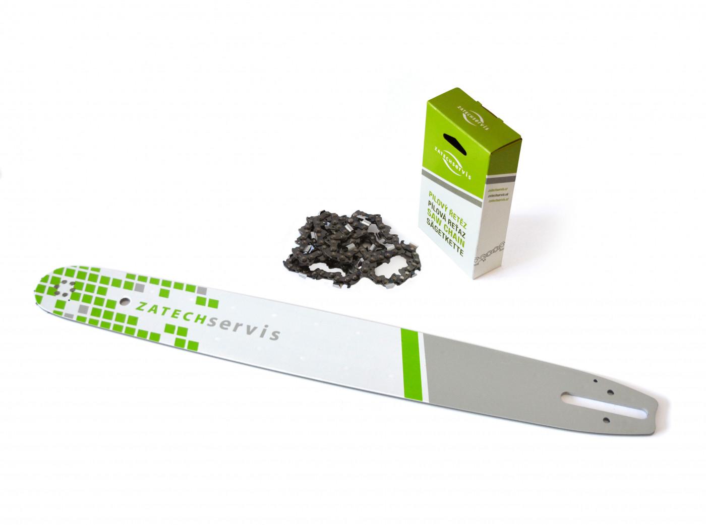Lišta 50cm +řetěz 72 článků 3/8 1,6 mm pro Stihl