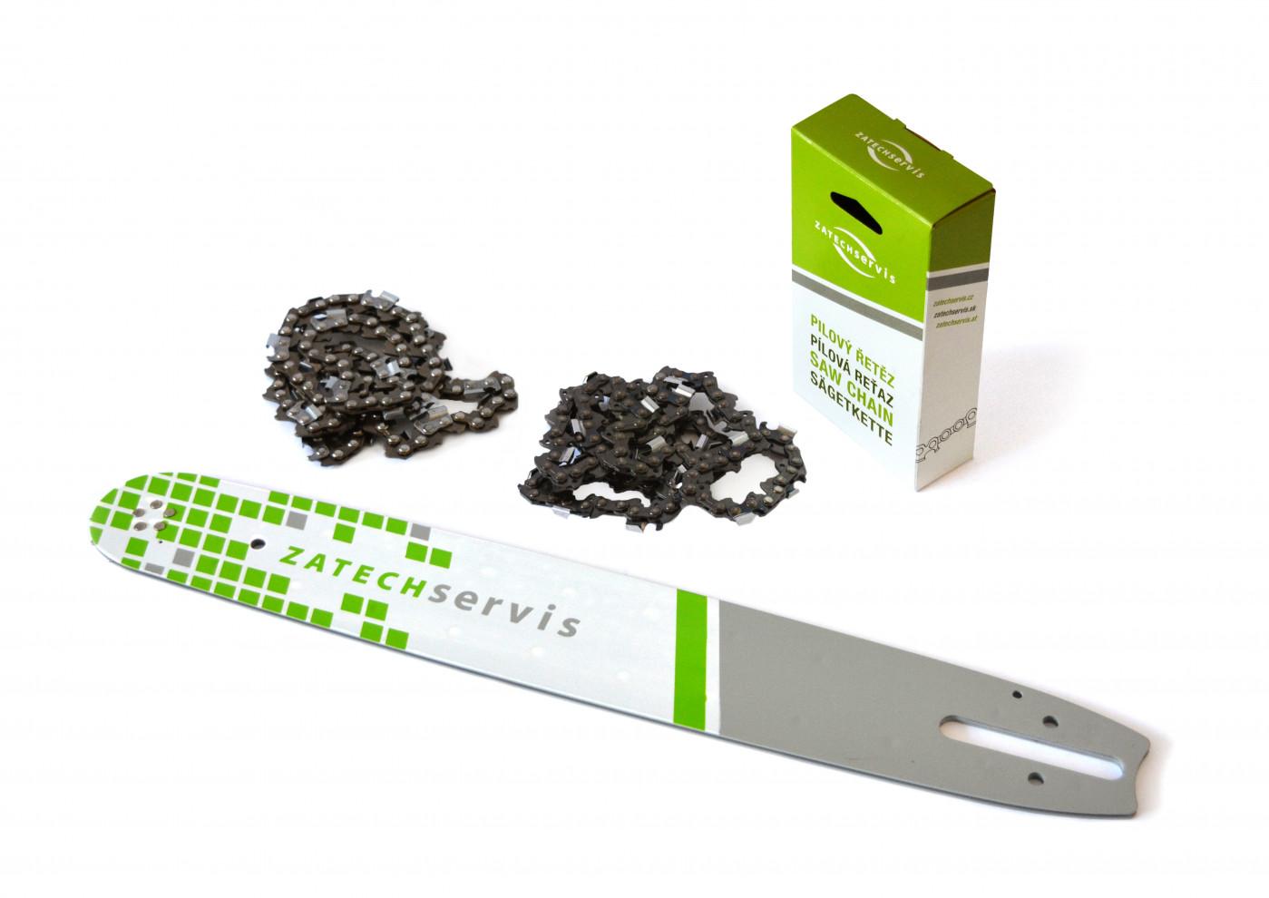 Lišta 40cm +2 krát řetěz 67 článků .325 1,6 mm pro Stihl