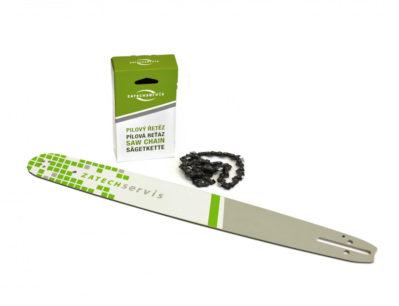 Vodící lišta  50cm + řetěz 78 článků 325 1,5mm pro Husqvarnu