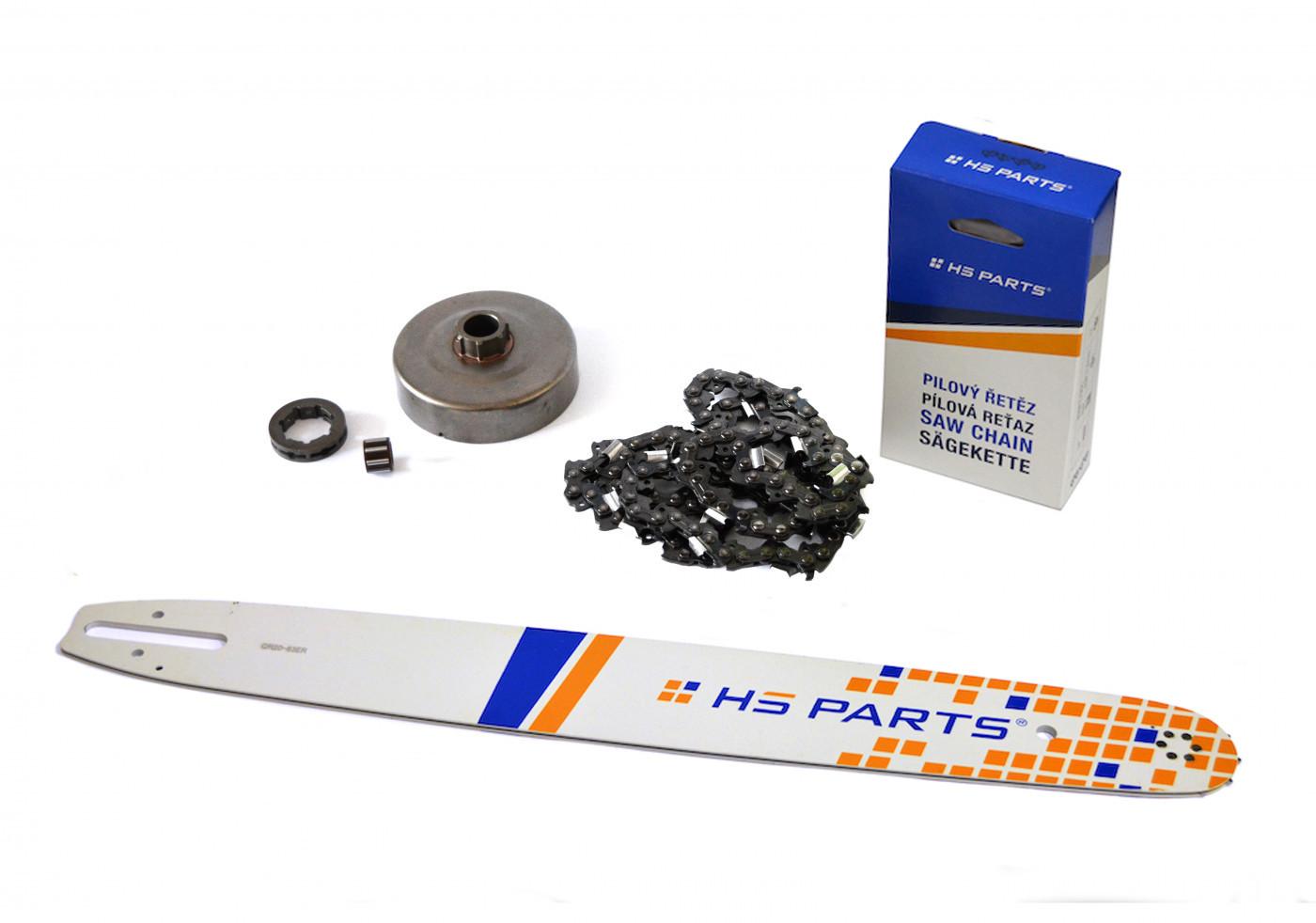Lišta 50cm +řetěz 72 článků 3/8 1,6 mm +řetězka Stihl MS660