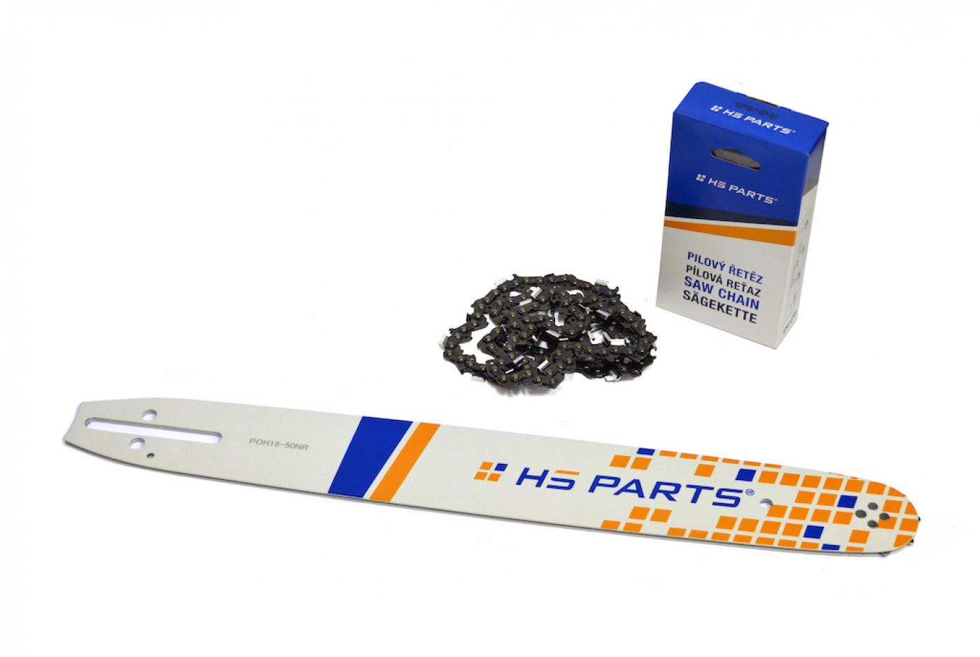 Lišta 40cm +2x řetez 56 čl. 3/8 1,3mm + řetězka Partner 350 351 370 390 420