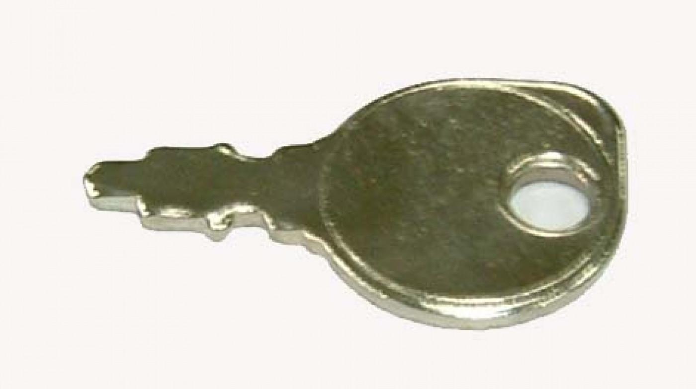 Klíček zapalování UNIVERZÁLNÍ MALÝ kovový