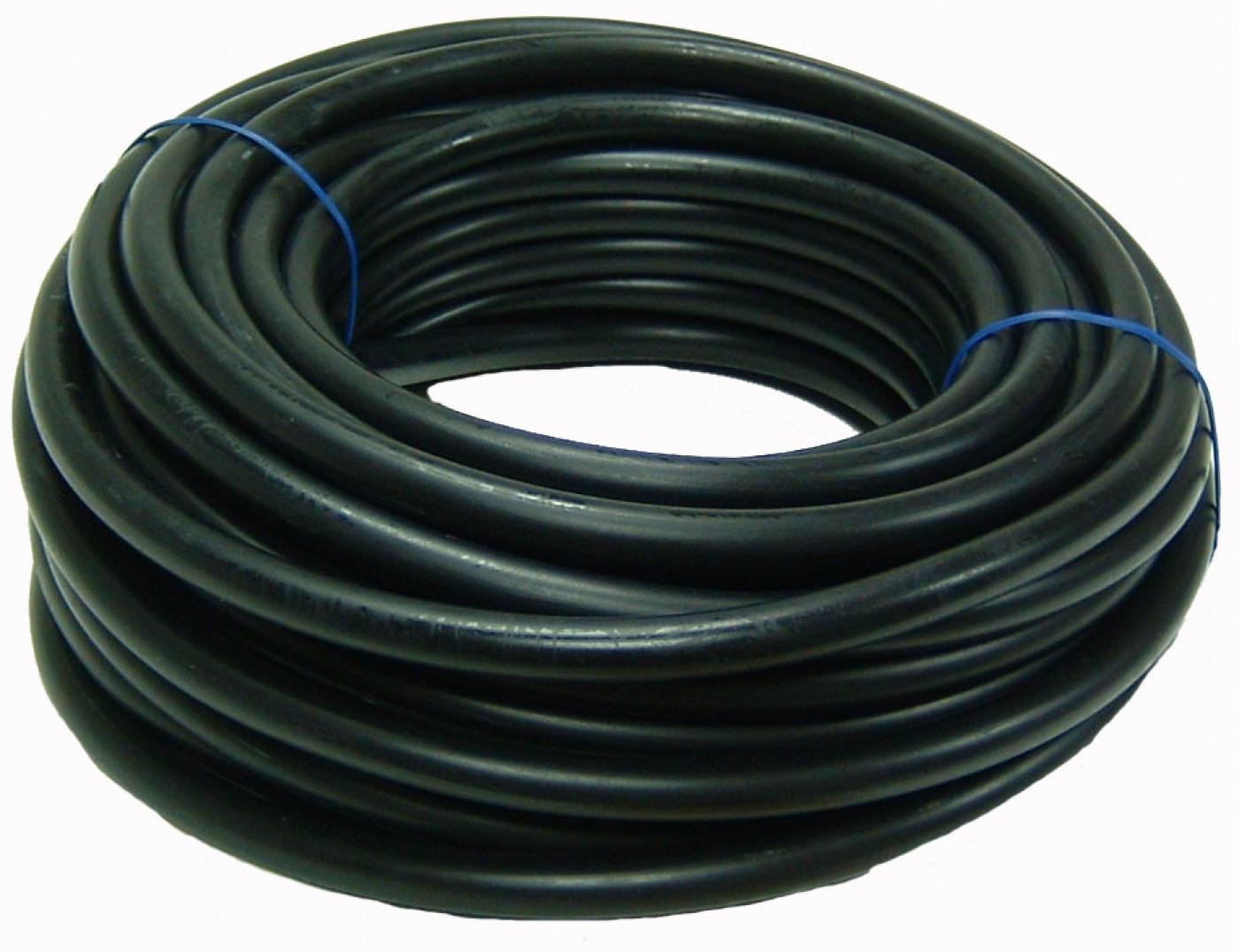 Palivová hadička černá 3,0mm x 5,0mm - 15m