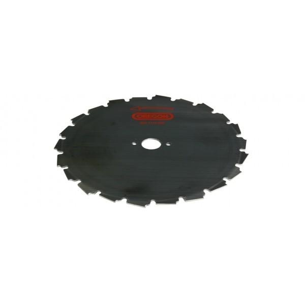 Ocelový nůž pro křovinořezy EIA - 22-zubý x 200mm x 1,5mm, montáž 25,4mm