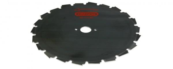 Ocelový nůž pro křovinořezy EIA - 24-zubý  x 225mm x 1,8mm, montáž 20mm
