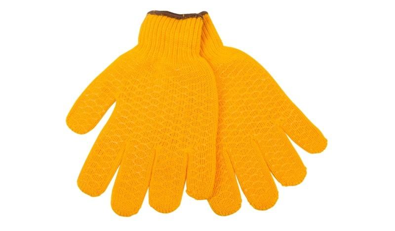 Žluté pracovní rukavice M,L,XL