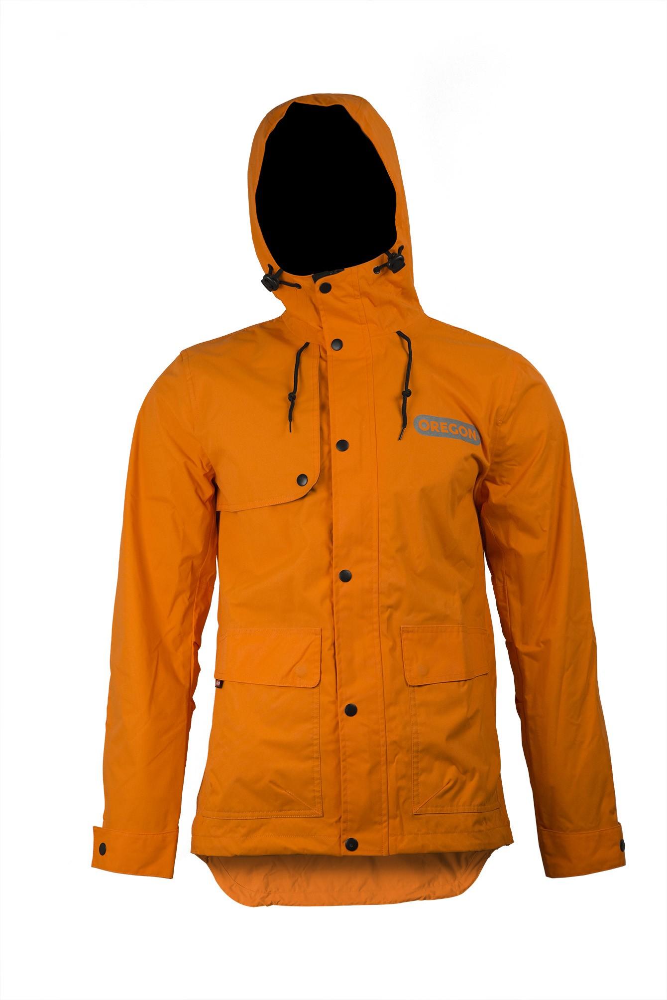 Bunda do deště oranžová 295451