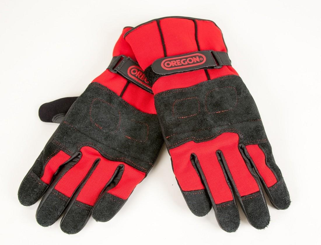 Protipořezové zimní kožené rukavice Fiordland  M.L,XL