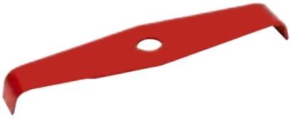 Ocelový nůž pro křovinořezy - 2-zubý - 300mm x 3,0mm, montáž univerzální
