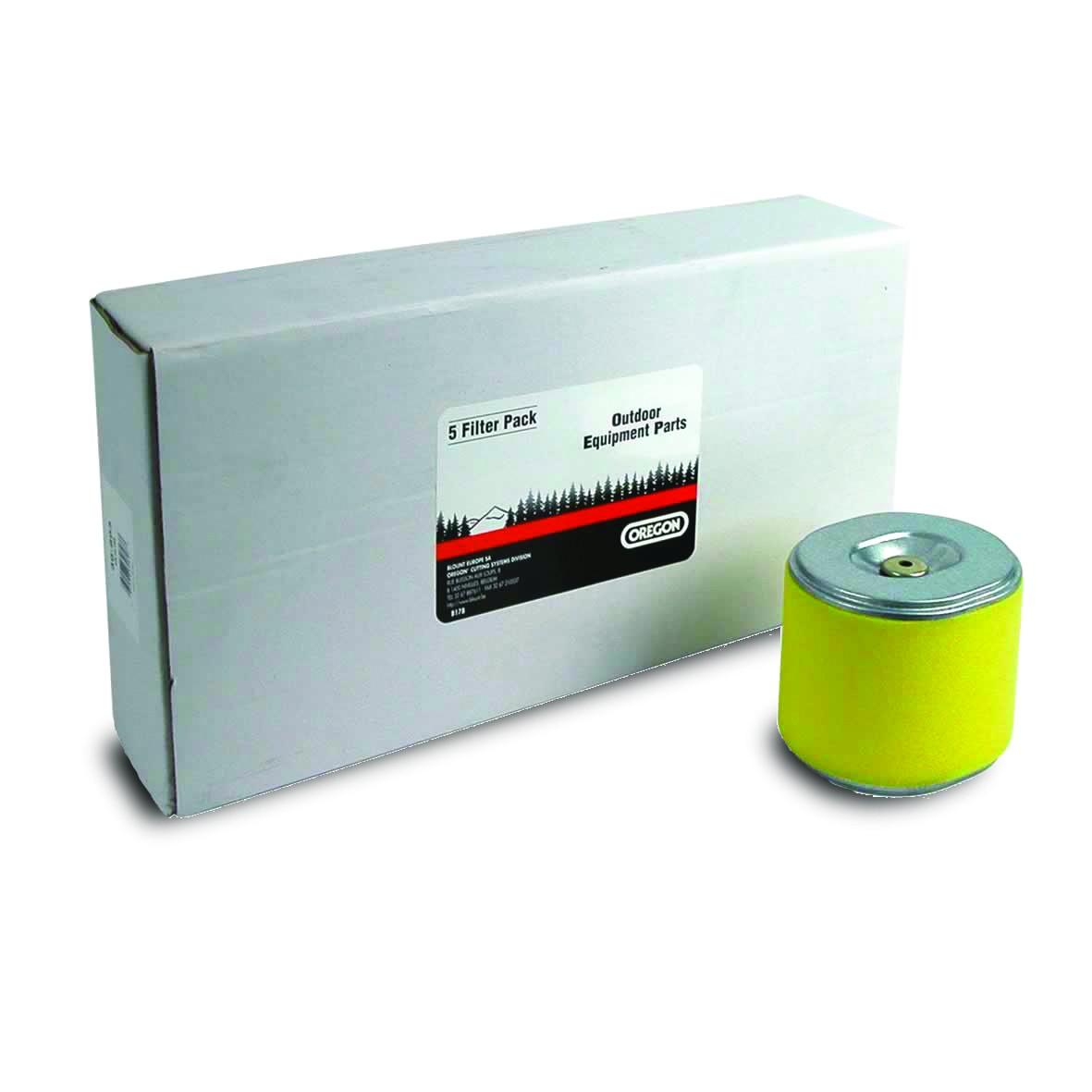 Vzduchový filtr do sekačky s motorem Honda GX340 GX390 - 5 sztuk
