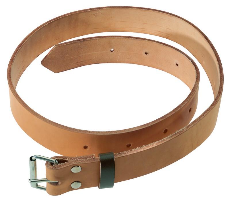 Dřevorubecký kožený opasek 125cm