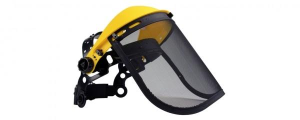 Ochranný štít pro obsluhu křovinořezu (ocelová síťka)