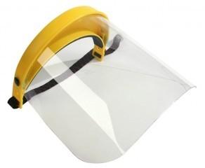 Ochranný štít pro obsluhu křovinořezu (plexi)