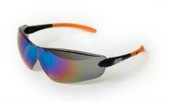 Ochranné brýle - tmavé (černé) zrcadlové