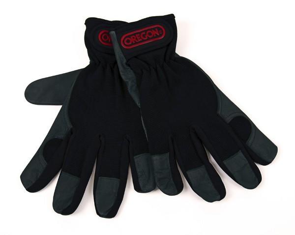 Pracovní rukavice, kůže a čtyřcestný streč M,L,XL