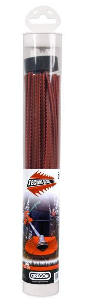 Žací struna červená Techni Blade  7 .0 mm x 26cm 40ks