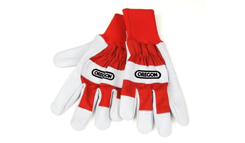 Pracovní rukavice z kůže a látky