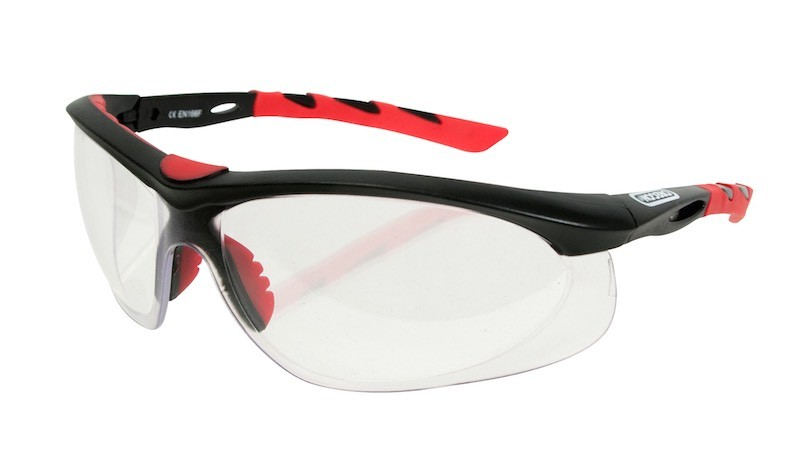 Ochranné brýle - čiré (sportovní design)