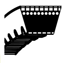 Klínový řemen Stihl TS400 - řezný kotouč (9,5 x 871,22) (9490-000-7851)