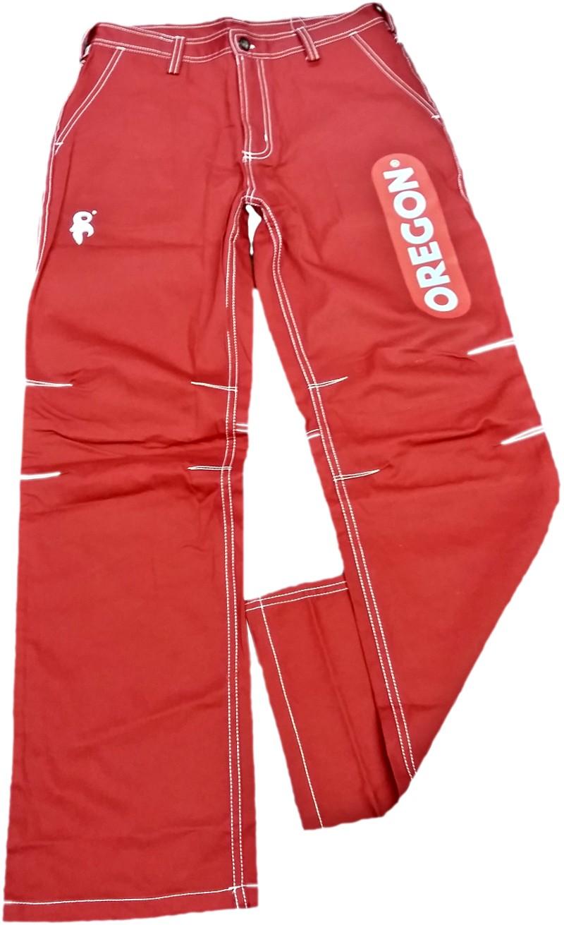 Pracovní kalhoty - červené