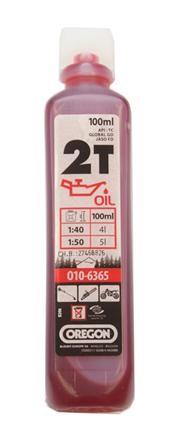 Olej pro 2T motory 100 ml - červený