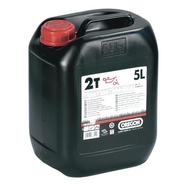 Olej pro 2T motory 5L - červený