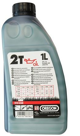 Olej pro 2T motory 1L - zelený