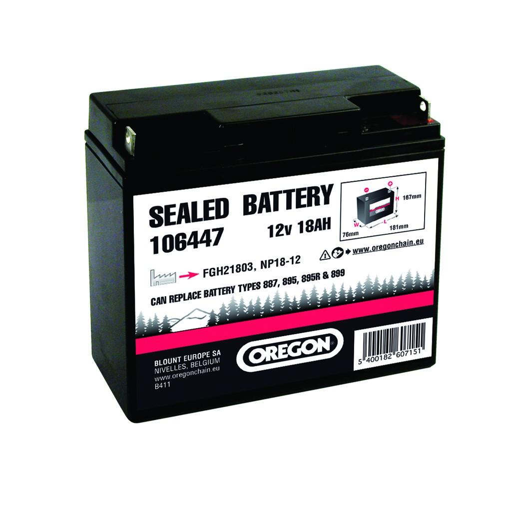 Gelová baterie 12v 18AH (180x75x165) SLA 12-18