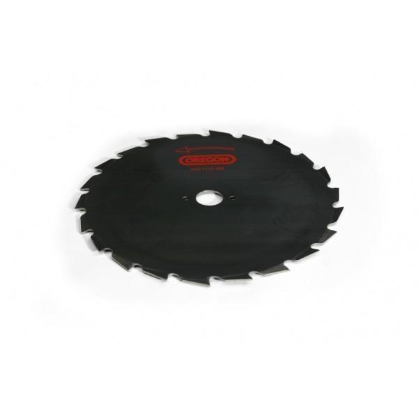 Ocelový nůž pro křovinořezy Maxi - 24-zubý x 225mm x 1,8mm, montáž 20mm