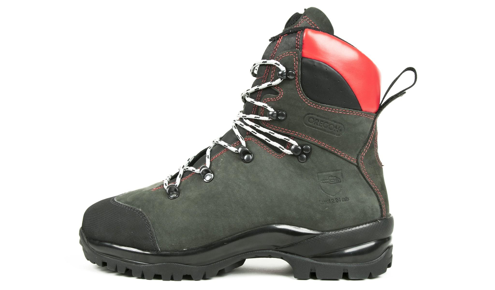 Protipořezové kožené boty 295469