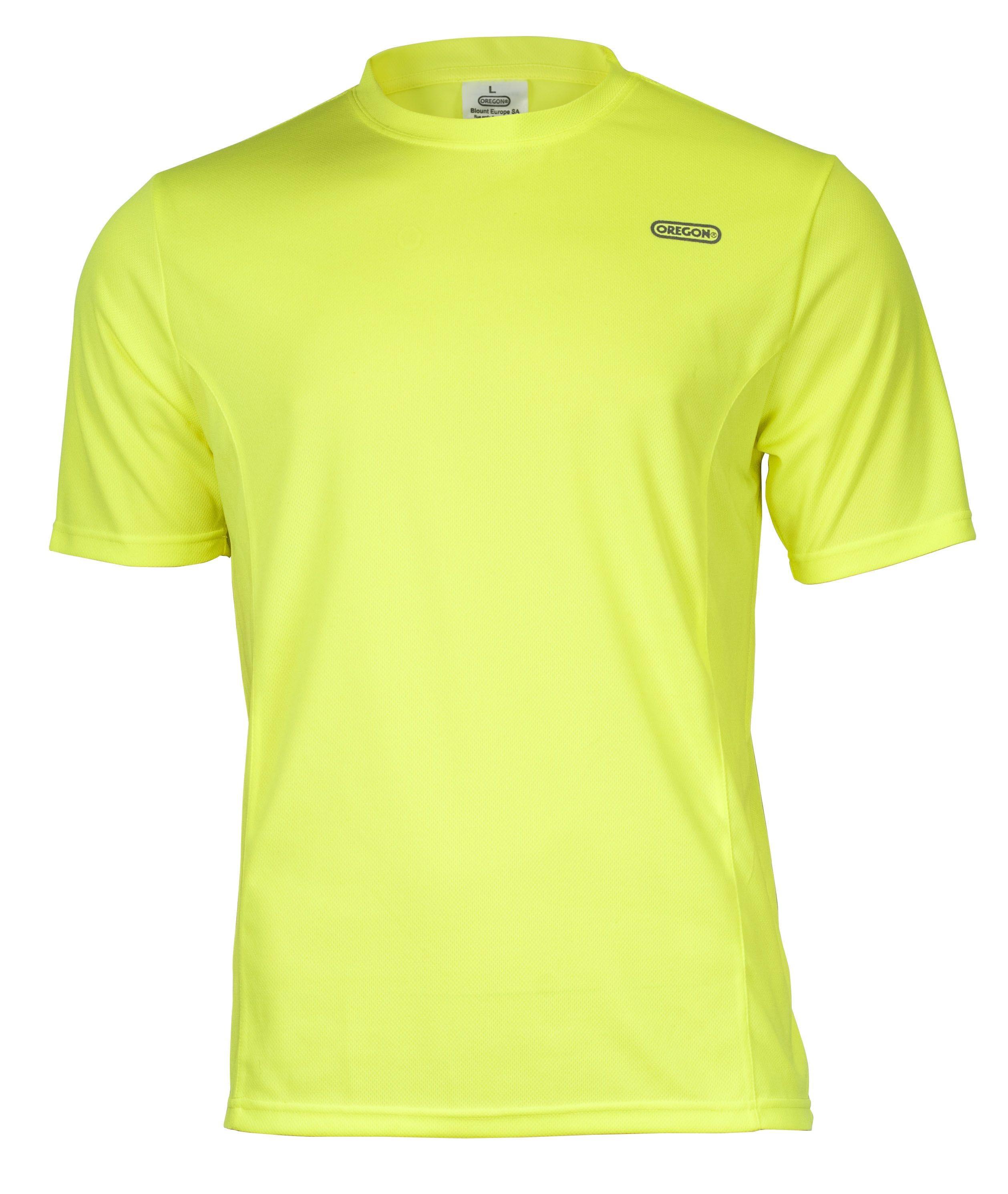 Funkční triko žluté - krátký rukáv