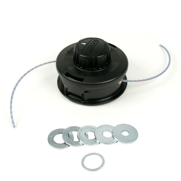 Bezčepová univerzální strunová hlava 2-lank. do 33ccm (poloautomatická) 109 mm