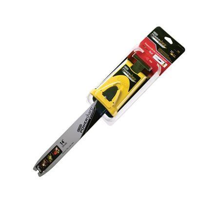 """Vodící lišta 14"""" - 140SDEA318 PowerSharp + ostřící adaptér"""
