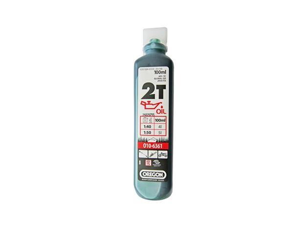 Olej pro 2T motory 100 ml - zelený