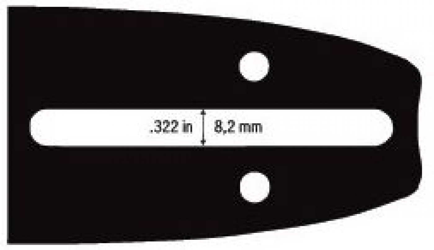 """Vodící lišta 16""""(40cm) 3/8"""".050""""/1,3mm 56čl."""