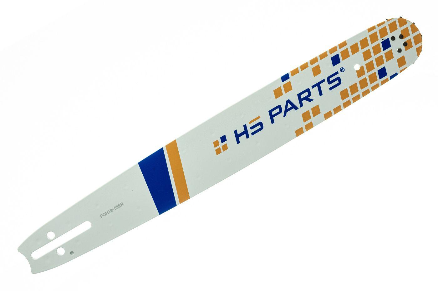 "HS PARTS Vodící lišta 18"" (45 cm) 3/8"" .058"" (1,5 mm) 68 čl."