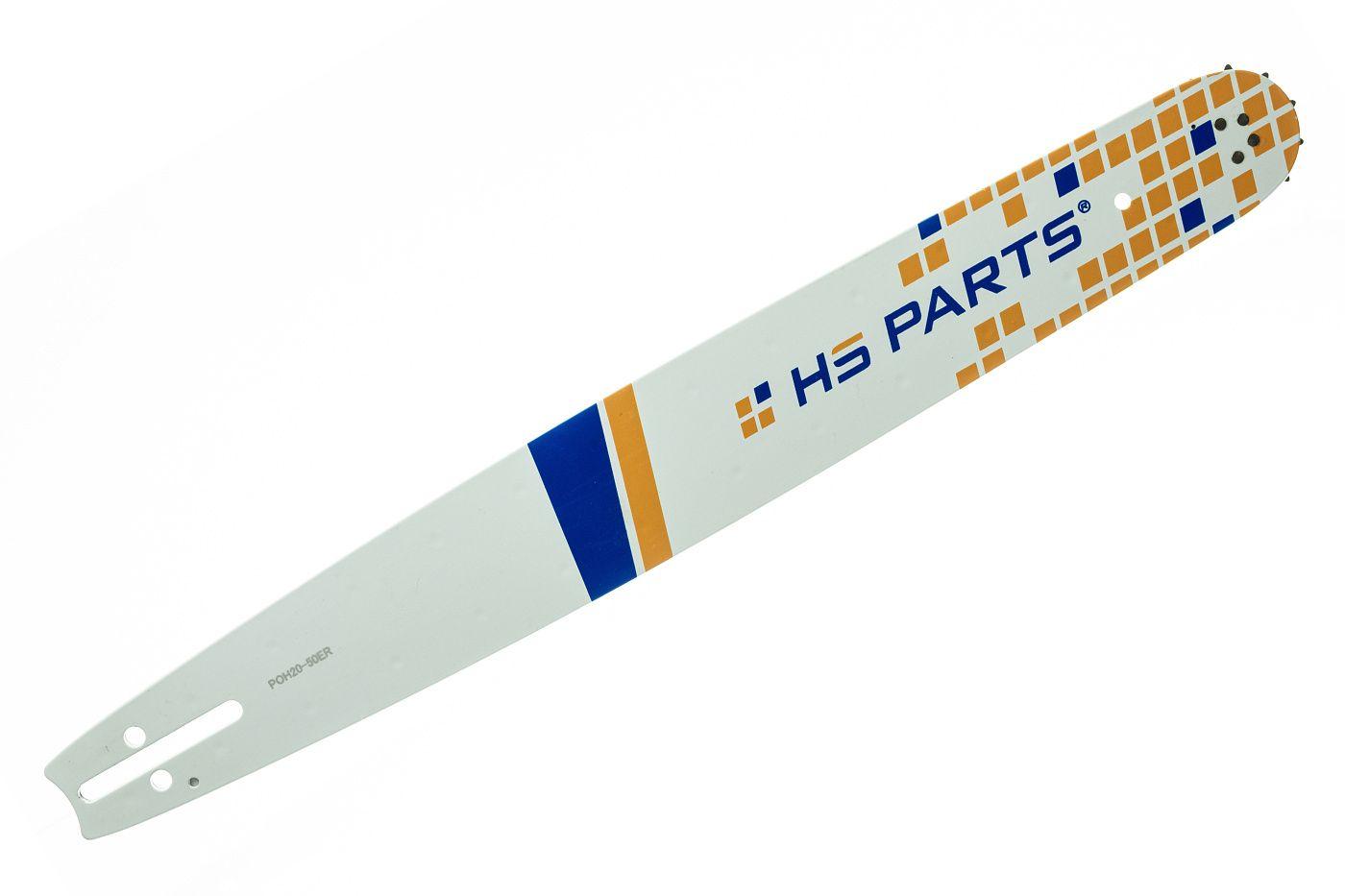 "HS PARTS Vodící lišta 20"" (50 cm) 3/8"" .050"" (1,3 mm) 72 čl."