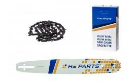 HS PARTS Akční set vodící lišta 16