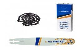 HS PARTS Akční set vodící lišta 20