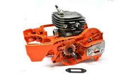 Motor Husqvarna 372 52 mm + kliková skříň SUPER AKCE sleva 1500 Kč