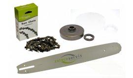 Lišta 38cm + řetěz 56 článků 3/8 1,6mm +řetězka Stihl MS660