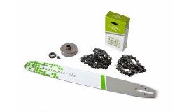 Lišta 50cm +2x řetěz 72 článků 3/8 1,6 mm + řetězka Stihl MS660