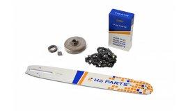 Lišta 40cm + řetěz 60 článků 3/8 1,5mm + řetězka Husqvarna 365