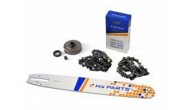 Lišta 40cm +2x řetěz 60 článků 3/8 1,6mm+ řetězka Stihl MS360