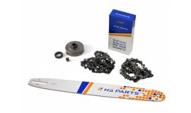 Lišta 50cm + 2x řetěz 72 článků 3/8 1,6 mm +řetězka Stihl MS360